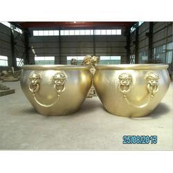 40公分铜缸|40公分铜缸生产厂家|纯铜缸雕塑图片
