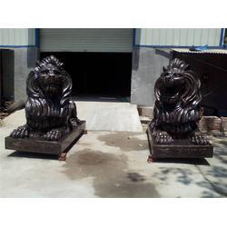 恒保发铜雕厂(图),大型铜狮子铸造,铜狮子铸造图片