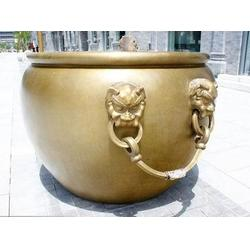 40公分铜缸、40公分铜缸生产厂家、纯铜缸雕塑(多图)图片