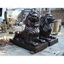 河北铜雕厂(图)|2米铜雕狮子|铜雕狮子图片