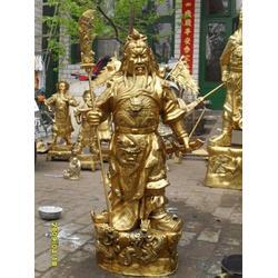 湖南财神铜像、财神铜像摆件大型、恒保发铜雕厂(多图)图片