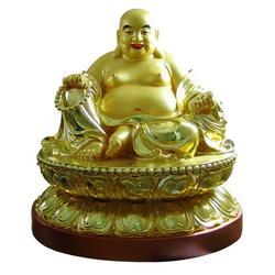 大肚铜弥勒多少钱|大肚铜弥勒|唐县恒保发铜雕公司图片