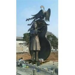 恒保发铜雕公司_城市铜雕制作_张家口城市铜雕图片