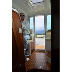 途达游艇公司 玻璃钢钓鱼艇-大连玻璃钢钓鱼艇图片