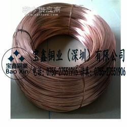 环保黄铜线C2680,中硬紫铜线,弹簧硬态磷铜线1.0 1.6mm图片