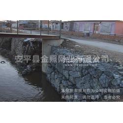 沟渠生态修复格宾石笼_固滨笼河道除险加固金照图片