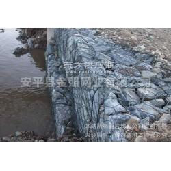 防洪护堤绿格网_金属水土流失石笼网箱_金照图片