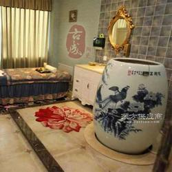陶瓷养生翁定制 巴马活瓷能量舱 排毒养颜汗蒸缸图片