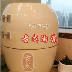 活瓷能量养生樽生产厂家汗蒸养生翁负离子磁蒸翁图片