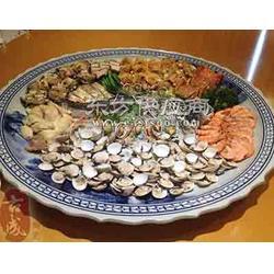 海鲜大鱼盘 陶瓷大咖盘火锅分格盘图片