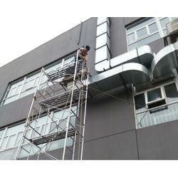 实验室通风管道安装_净览暖通工程服务公司_嘉定区通风管道安装图片