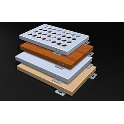 穿孔铝单板、龙标建材、山东铝单板图片
