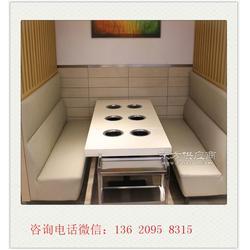 卡座沙发生产厂家定做小户型茶餐厅卡座沙发图片