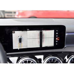 19款奔驰A180L A200L改装64色氛围灯涡轮出风口360全景液晶仪表大屏图片