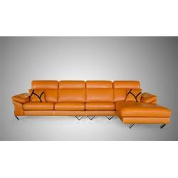 意大利头层皮沙发,意大利不锈钢头层皮沙发,祺丰家居图片