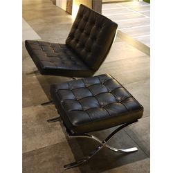 巴塞罗那不锈钢休闲椅,广西不锈钢休闲椅,祺丰家居图片