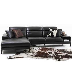 祺丰家居、真皮北欧木艺沙发、北欧木艺沙发图片