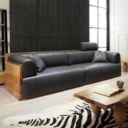 北欧造型真皮沙发|祺丰家居|北欧造型真皮沙发报价图片
