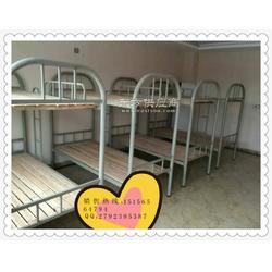 经开区180元员工上下铺床工地宿舍上下床铁架子床厂家直销全新出售包送货安装图片