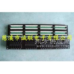 诚联超六类屏蔽非屏蔽48口光纤配线架,48口网络配线架图片