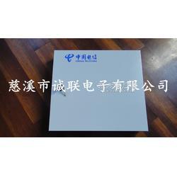 诚联室外壁挂式分纤箱 冷轧板24芯光纤分纤箱图片