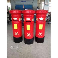英国红色邮筒图片