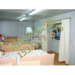 豪华餐厅野营房大型厨房集装箱预制图片