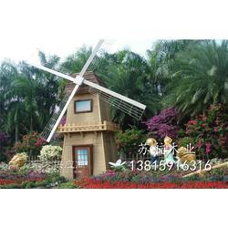 7米景区装饰风车 荷兰景点风车 商业区道具风车架 木制户外景点风车图片