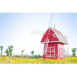4m田园装饰风车 荷兰风车 木制户外风车 景点摆设公园风车架 活动道具图片