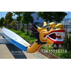 国际标准龙舟 木质比赛龙舟 22人18.3米玻璃钢龙舟 端午赛龙舟专用木船图片