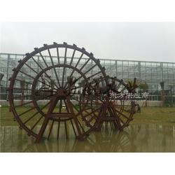 6m、8m子母水车组合 防腐水车 组合子母水轮车 景观水车转运轮图片