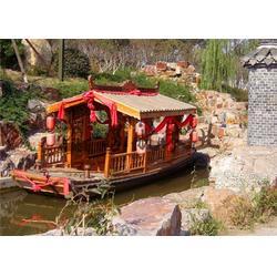 6米户外单亭船 景区观光旅游船 传统木船 款式可定制图片