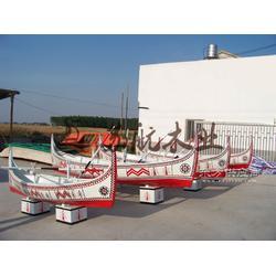 6m欧式手划木船 两头尖欧式木船 木质游玩观光船 纯手工制做图片