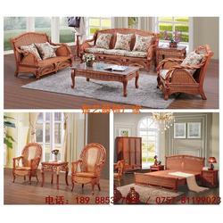 藤家具沙发-福建藤椅家具-振艺藤椅家具公司图片