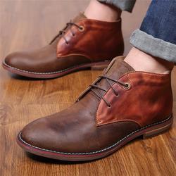 海外版男短靴-洛巴牛鞋业(在线咨询)男短靴图片