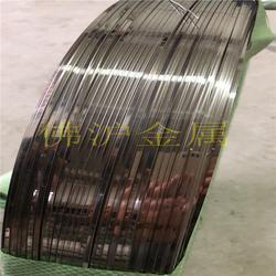 不锈钢压扁线304亮面扁线丝不锈钢扁铁线
