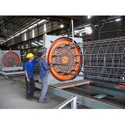钢筋骨架滚焊机生产厂家、旭辰机械、长春钢筋骨架滚焊机图片