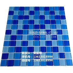 游泳池马赛克工程 水晶马赛克专业生产图片