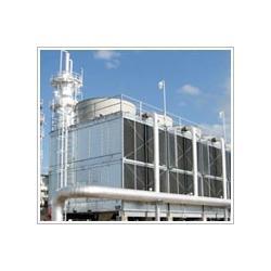 开放式冷却塔横流适用流量范围较广,多台冷却塔组合图片