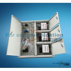 挂墙式FTTH三网合一光纤分纤箱三网合一直容箱图片