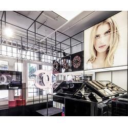 九华展柜(图)|广州美白化妆品展柜设计案例|化妆品展柜图片
