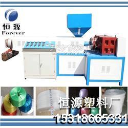 风冷式撕裂膜机组-PP PE 捆扎绳机撕裂膜生产设备图片