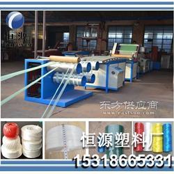 捆扎绳设备,塑料捆扎绳机,牧草打捆机专用草绳生产线图片