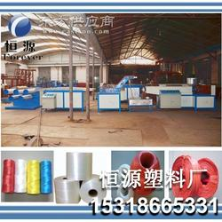 塑料扁丝拉丝机塑料坯子绳 扁丝拉丝机 扁丝拉丝机厂家图片