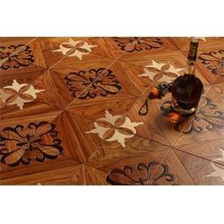 实木复合地板品牌 淄博实木复合地板 金牌地板(查看)图片