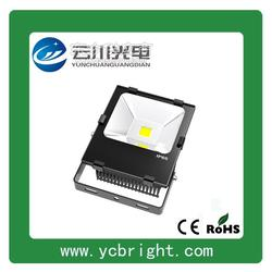 云川新款黑色矩形高亮戶外防水50WLED投光燈戶外防水投射燈圖片