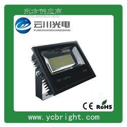 云川新款贴片200WLED投光灯05款黑色外壳户外防水亮化灯具图片