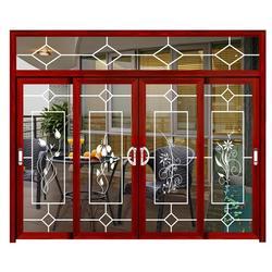 吊轨门,慕尼门窗,侧装吊轨门图片