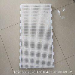 小鹅雏用塑料粪板 育雏网床规格 塑料育雏地板厂家图片