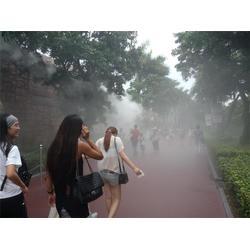 无锡园林造雾、园艺园林造雾专家、铭田喷雾造雾系统图片